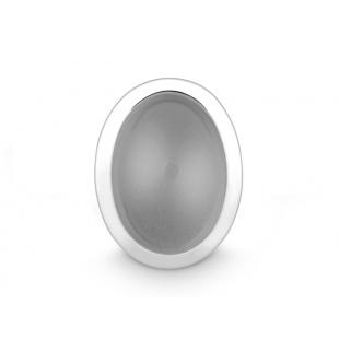 Quinn Anhänger mit grauem Mondstein in Silber 925