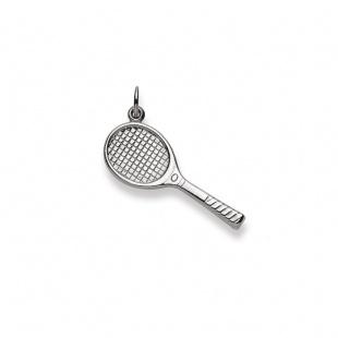 Anhänger Tennis in Weissgold 750/18K