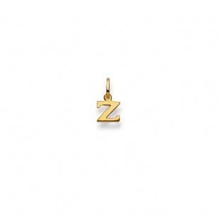 Anhänger Buchstabe Z in Gelbgold 750/18K