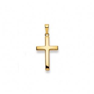 Anhänger Kreuz 4505 in Gelbgold 750/18K