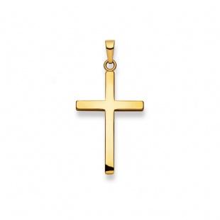 Anhänger Kreuz 4510 in Gelbgold 750/18K