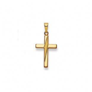 Anhänger Kreuz 4526 in Gelbgold 750/18K