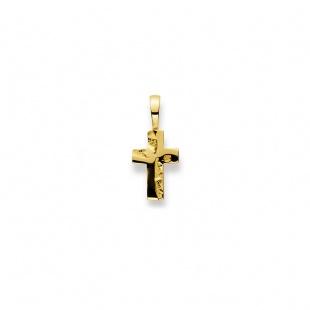 Anhänger Kreuz 4537 in Gelbgold 750/18K