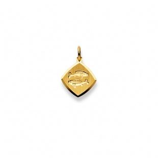 Anhänger Sternzeichen 4903 Fische in Gelbgold 750/18K