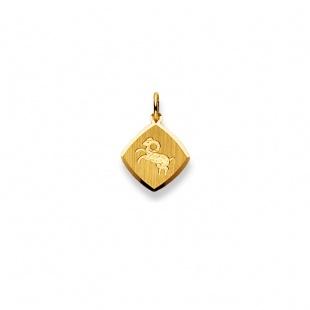 Anhänger Sternzeichen 4904 Widder in Gelbgold 750/18K