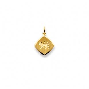 Anhänger Sternzeichen 4908 Löwe in Gelbgold 750/18K