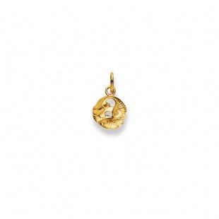 Anhänger Sternzeichen Fische in Gelbgold 750/18K