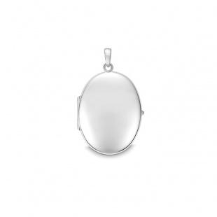 Quinn Medaillon 30x23x8mm in Silber 925
