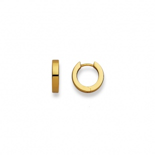 Creolen 12mm ∅ / 2.8mm in Gelbgold 750/18K