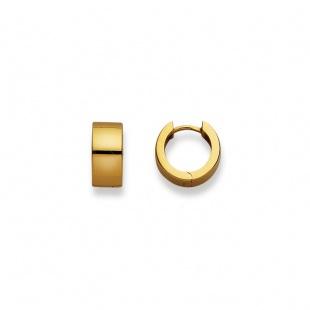 Creolen 13mm ∅ / 6.0mm in Gelbgold 750/18K