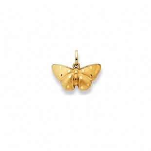 Anhänger Schmetterling 19mm in Gelbgold 750/18K