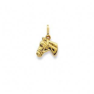 Anhänger Pferd in Gelbgold 750/18K