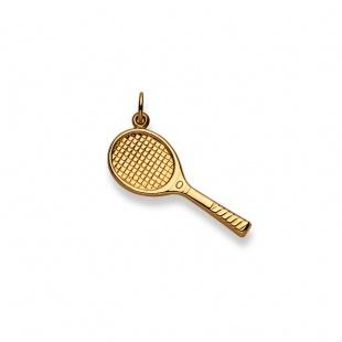 Anhänger Tennis in Gelbgold 750/18K