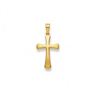 Anhänger Kreuz 4512 in Gelbgold 750/18K