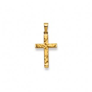 Anhänger Kreuz 4517 in Gelbgold 750/18K
