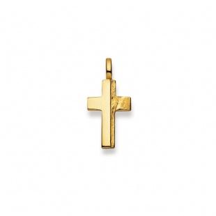 Anhänger Kreuz 4528 in Gelbgold 750/18K