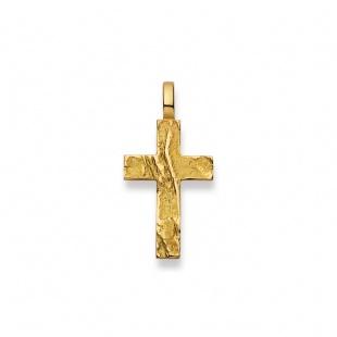 Anhänger Kreuz 4534 in Gelbgold 750/18K
