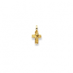 Anhänger Kreuz in Gelbgold 750/18K