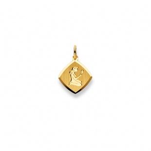 Anhänger Sternzeichen 4909 Jungfrau in Gelbgold 750/18K