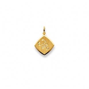 Anhänger Sternzeichen 4911 Skorpion in Gelbgold 750/18K
