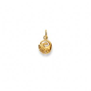 Anhänger Sternzeichen Löwe in Gelbgold 750/18K