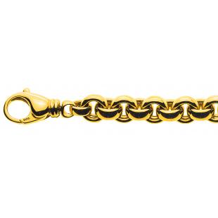Erbskette Bracelet 9.5mm in Gelbgold 750/18K