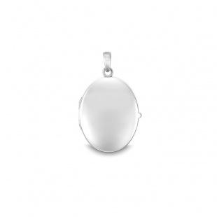 Quinn Medaillon 26x21x5mm in Silber 925